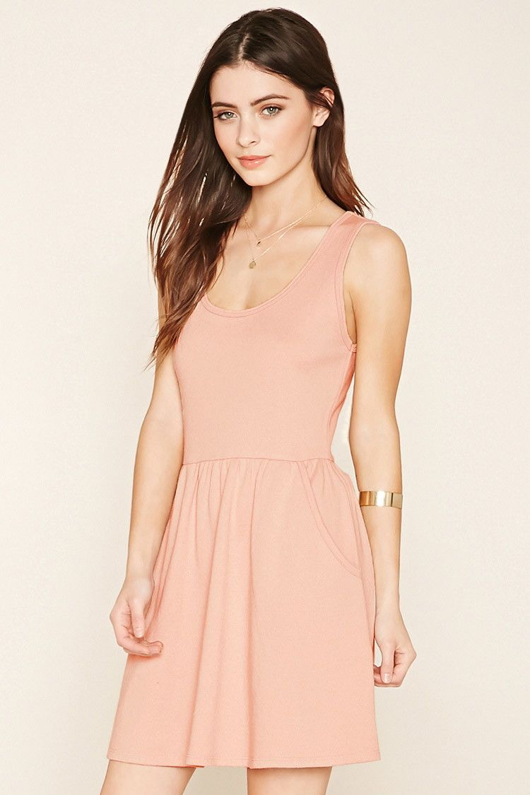 465077d1b0cc French Terry Skater Dress