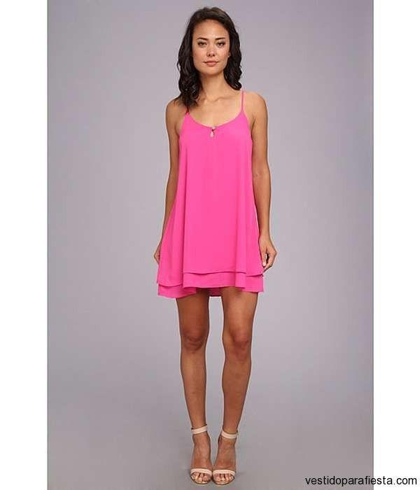 Vestidos Cortos Sueltos De Moda Casual Elegante 2014 29