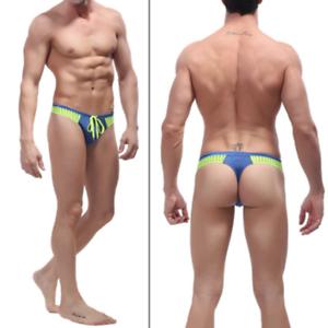 8cfbf57fd87f0 New-Men-Surf-Beach-Briefs-SPORT-Swimming-Trunks -G-String-Thong-Multiple-Styles