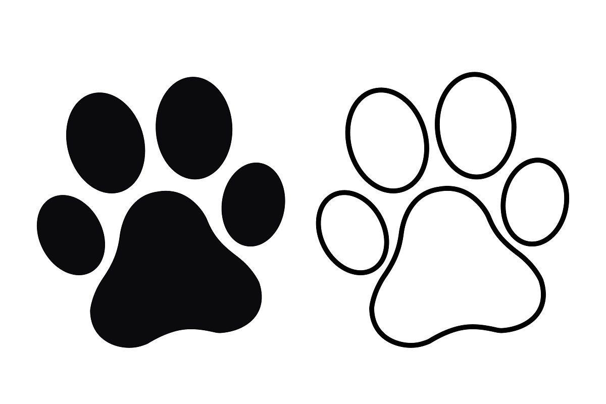 Cat Paw Pattern By Pumpkin Crazy On Deviantart Cat Template Paw Print Clip Art Dog Paw Print