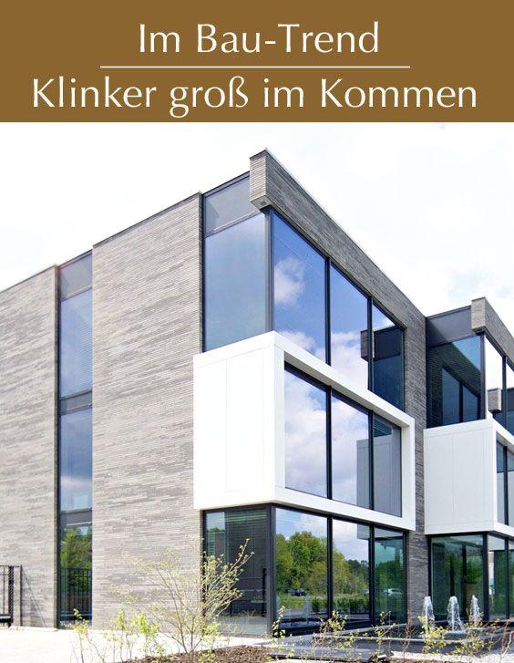 Grauer Klinker: Fassade im Trend