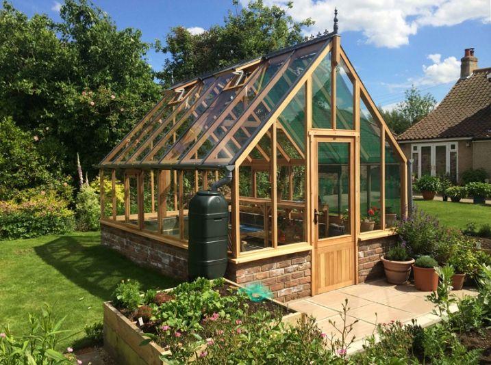 O acheter une serre en bois anglaise visit the - Fabriquer sa serre de jardin ...