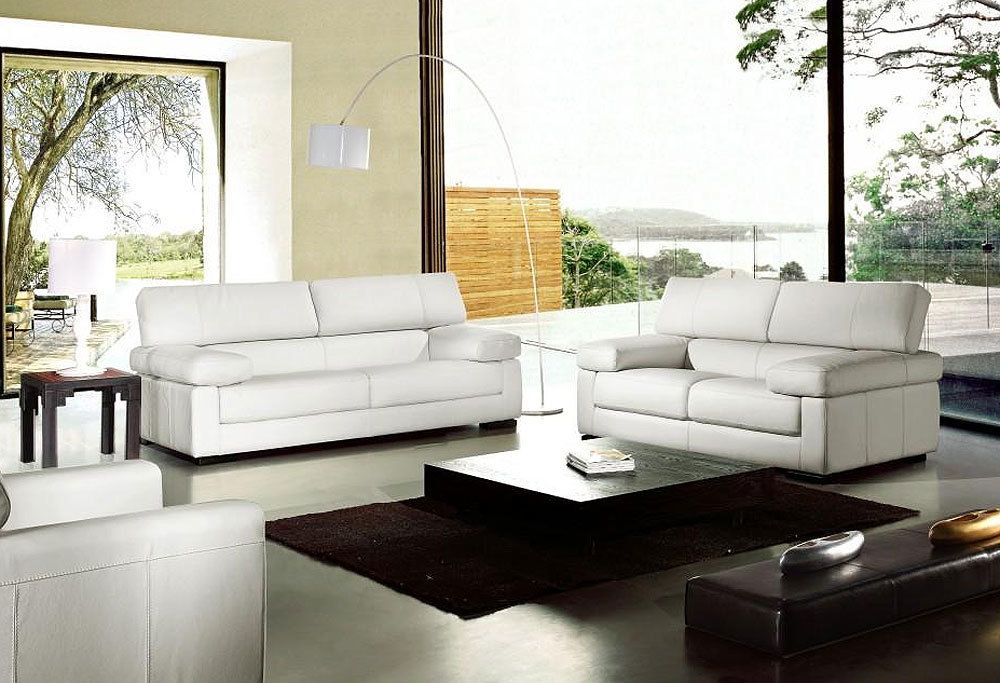 Studio mcgee modern, contemporary, or traditional—no matter your home's current style, leather furniture can add a t. Inspirierende Italienischen Leder Sofa Sets Vg ...