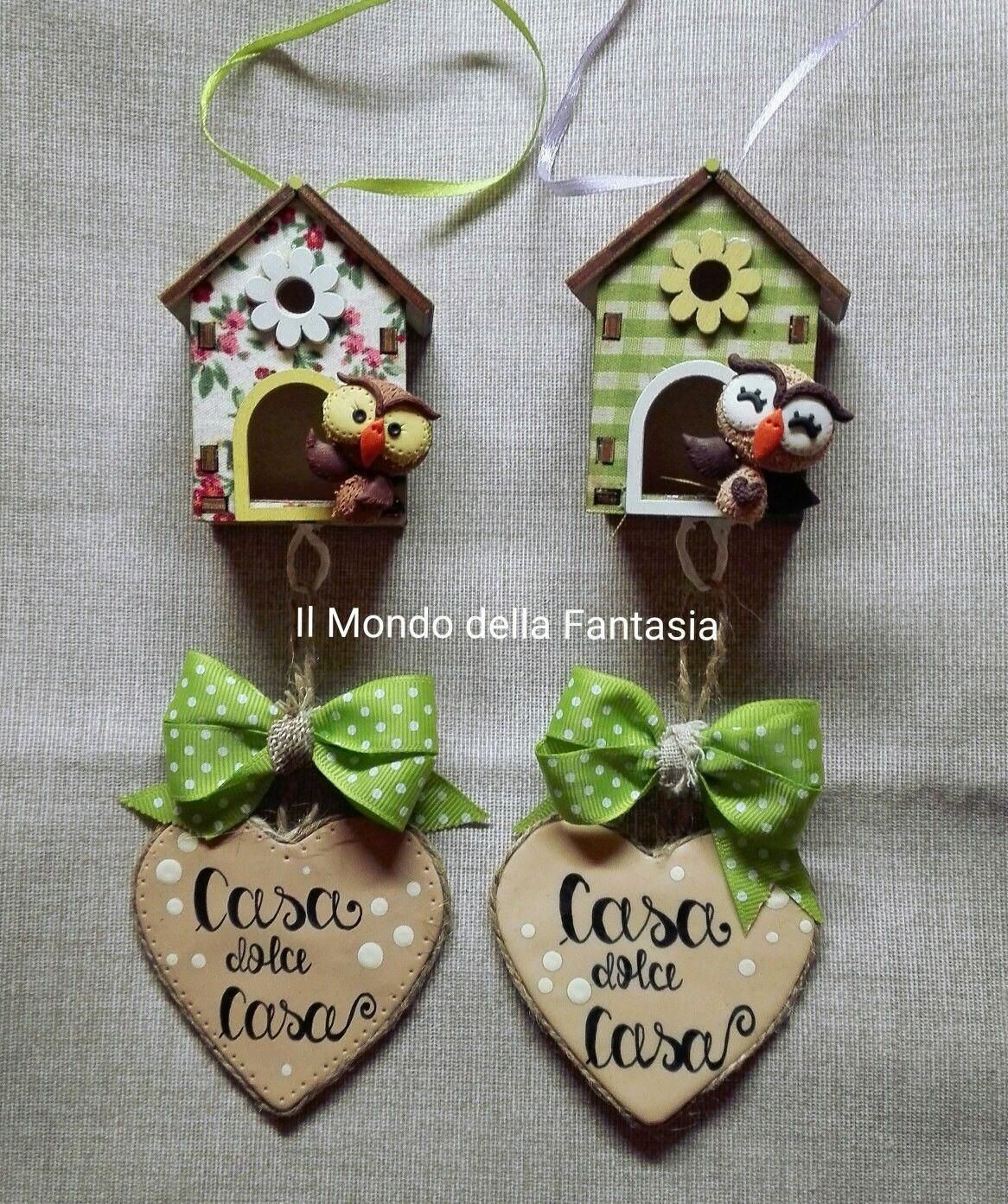 Fuoriporta in legno e fimo seguimi su instagram il mondo della fantasia shop decorazione - Mondo casa shop ...