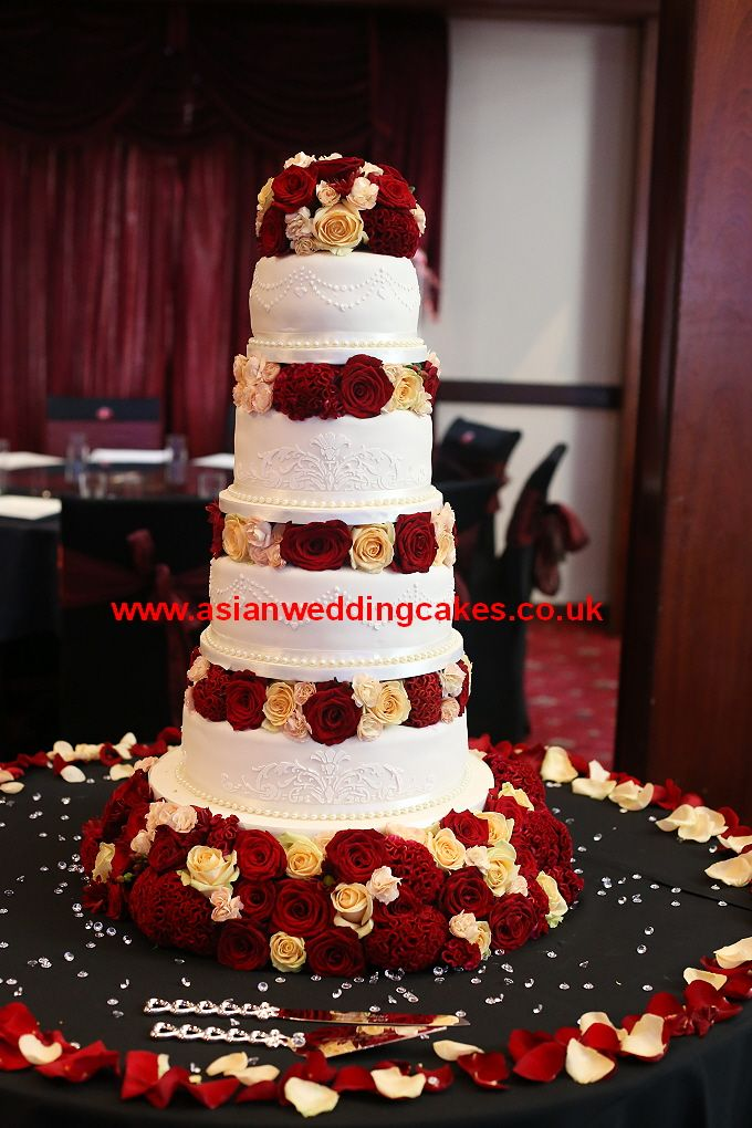 Asian Wedding Cakes Indian inspired cakes 3 Pinterest Wedding