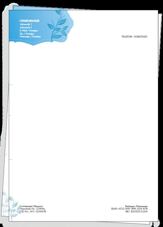 Briefpapier kostenlos gestalten und günstig nach Hause bestellen lassen. Schnell & Einfach!  #onlineprintXXL #onlinedruck #onlinedruckerei #briefpapier #papier