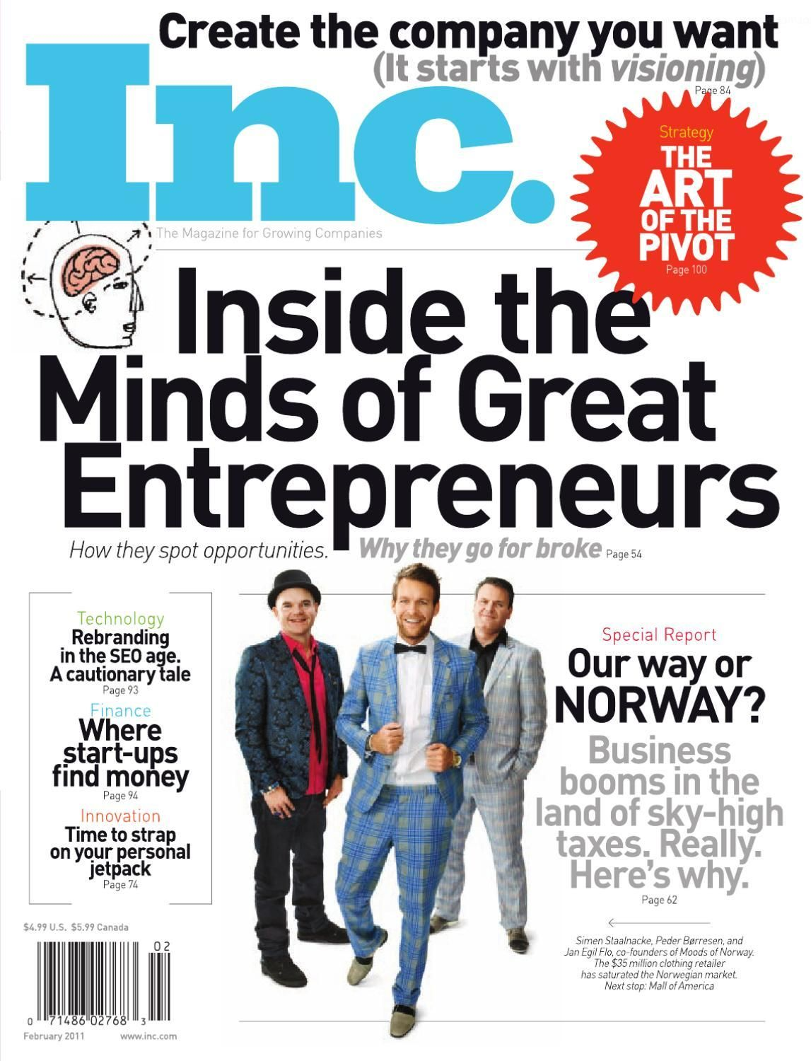 INC Magazine | The Business of Money, Global Empires