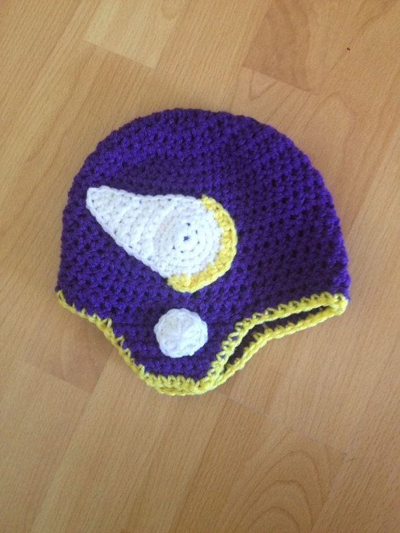 e131c0acc Crochet Minnesota Vikings Hat
