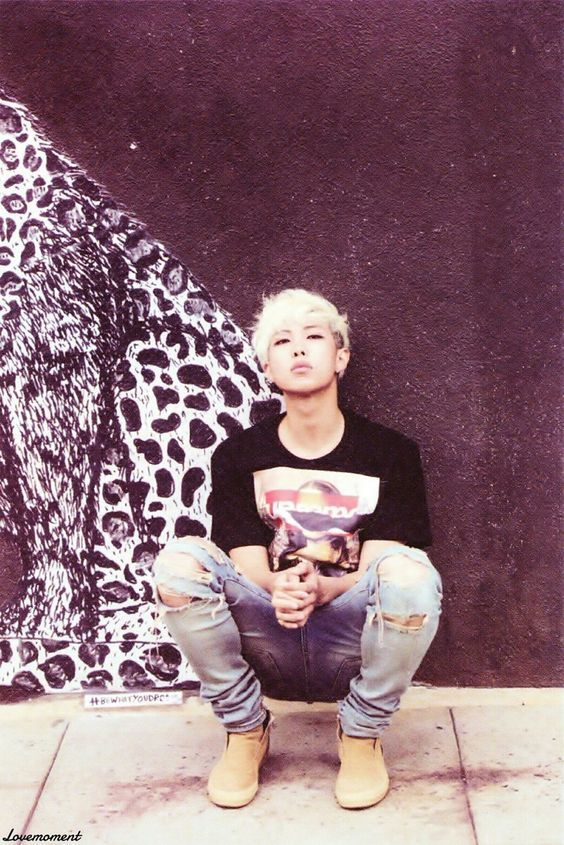 RAP MONSTER (BTS) >> He seriously looks like a model to me.