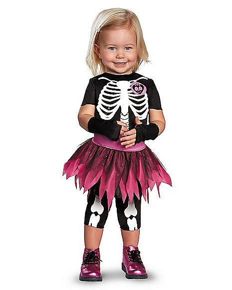 Itty Bitty Bones Skeleton Toddler Costume