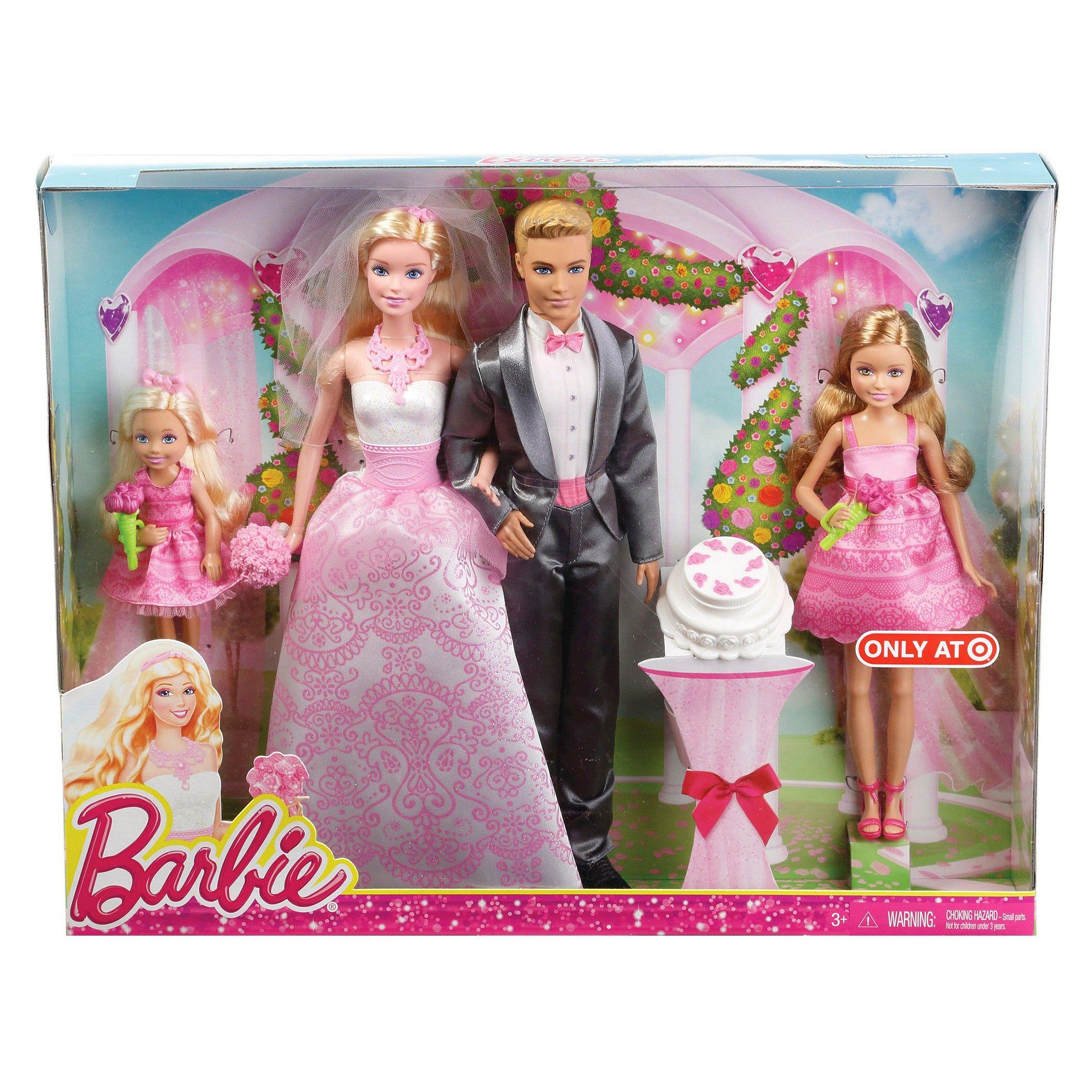 Barbie Wedding Giftset 2015 Wedding gift set, Barbie bride