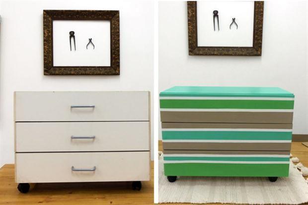 Renov tus muebles de f rmica o melamina muebles de - Pintar muebles de formica ...