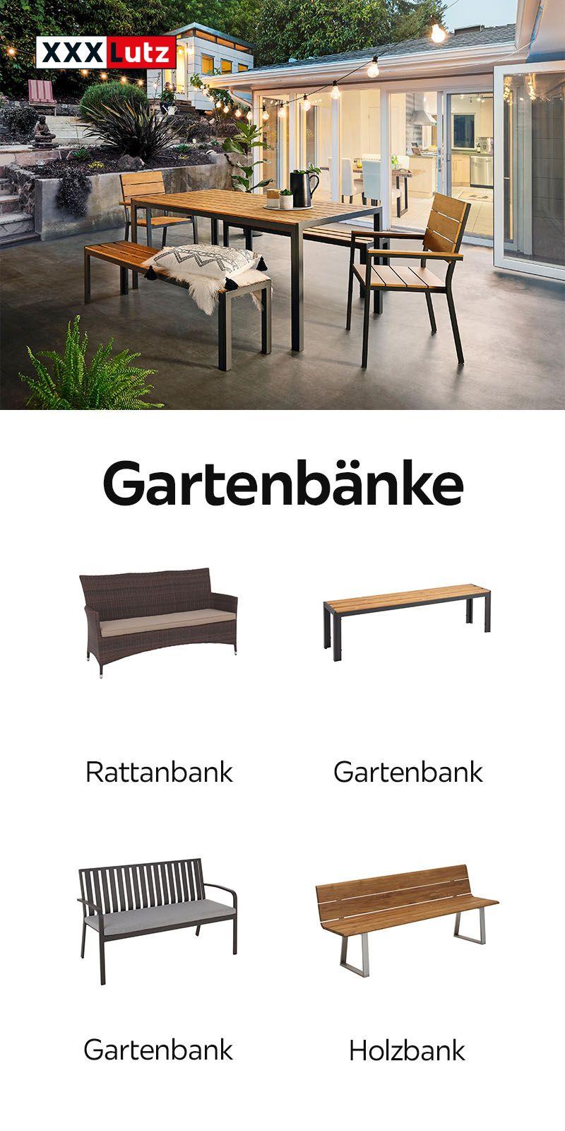 Gartenbanke Rattanbank Gartenbank Holzbank Gartenmobel Draussen Gartensaison Holzmobel Gartenbank Metall Gartenbanke Gartenbank
