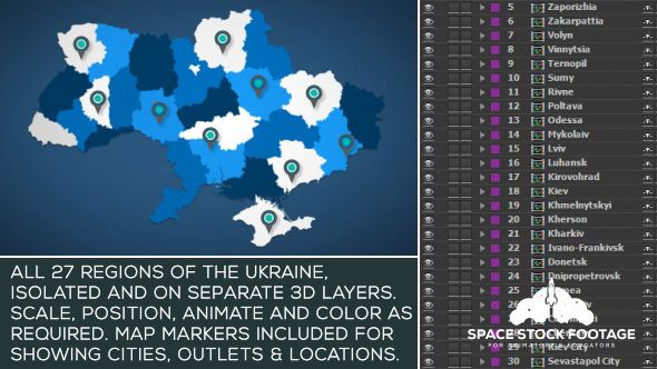 Ukraine map kit infographics envato videohive aftereffects buy ukraine map kit by spacestockfootage on videohive ukraine map kit ukraine map kit is a handy after effects project thats an invaluable addition to gumiabroncs Images