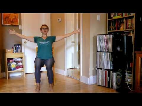 Youtube Chair Yoga Bean Bag Replacement Covers Stronger Seniors Hips Legs Sequence