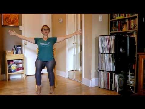 stronger seniors chair yoga hips  legs sequence  youtube