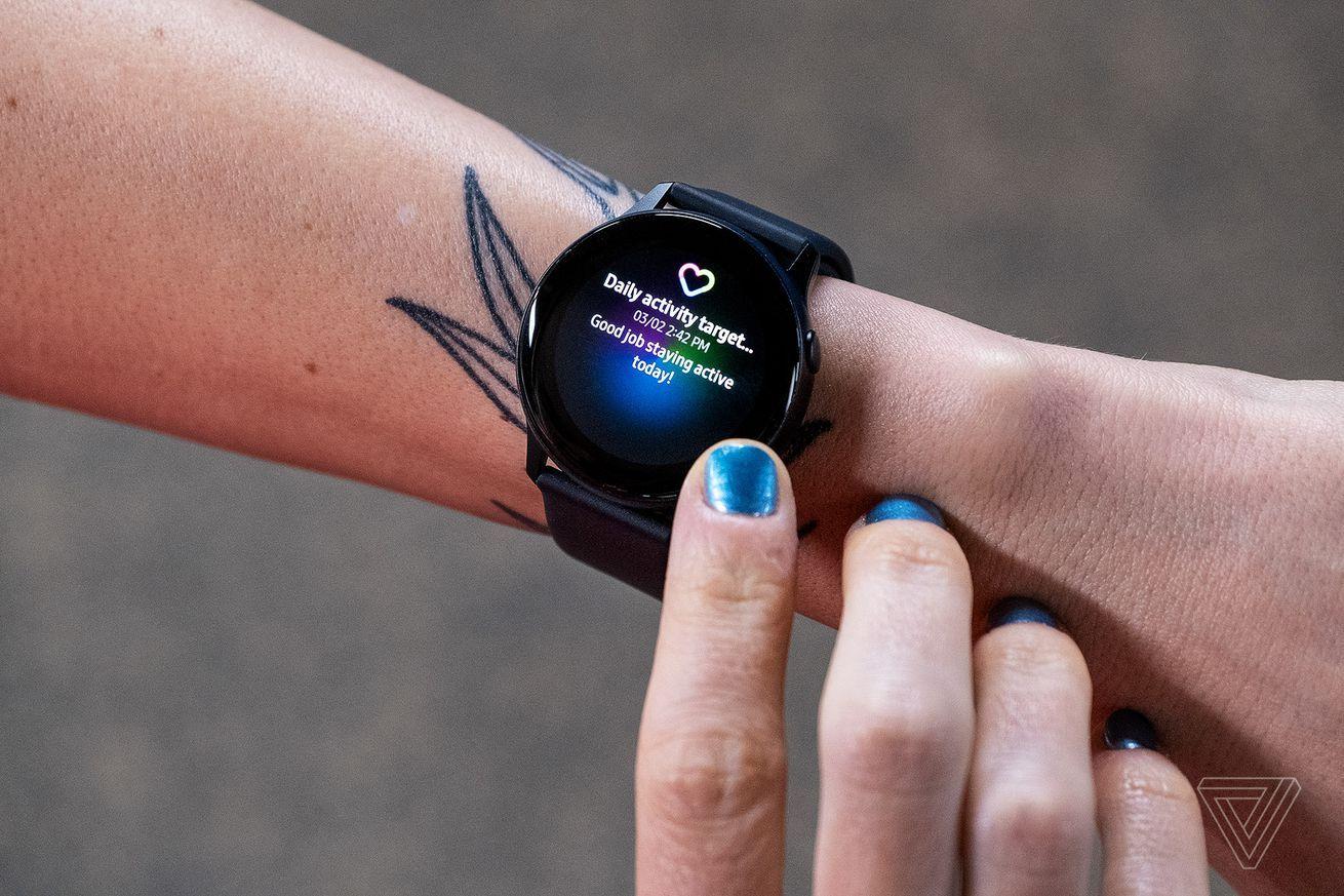 Samsung's Galaxy Wearable app has been having signin