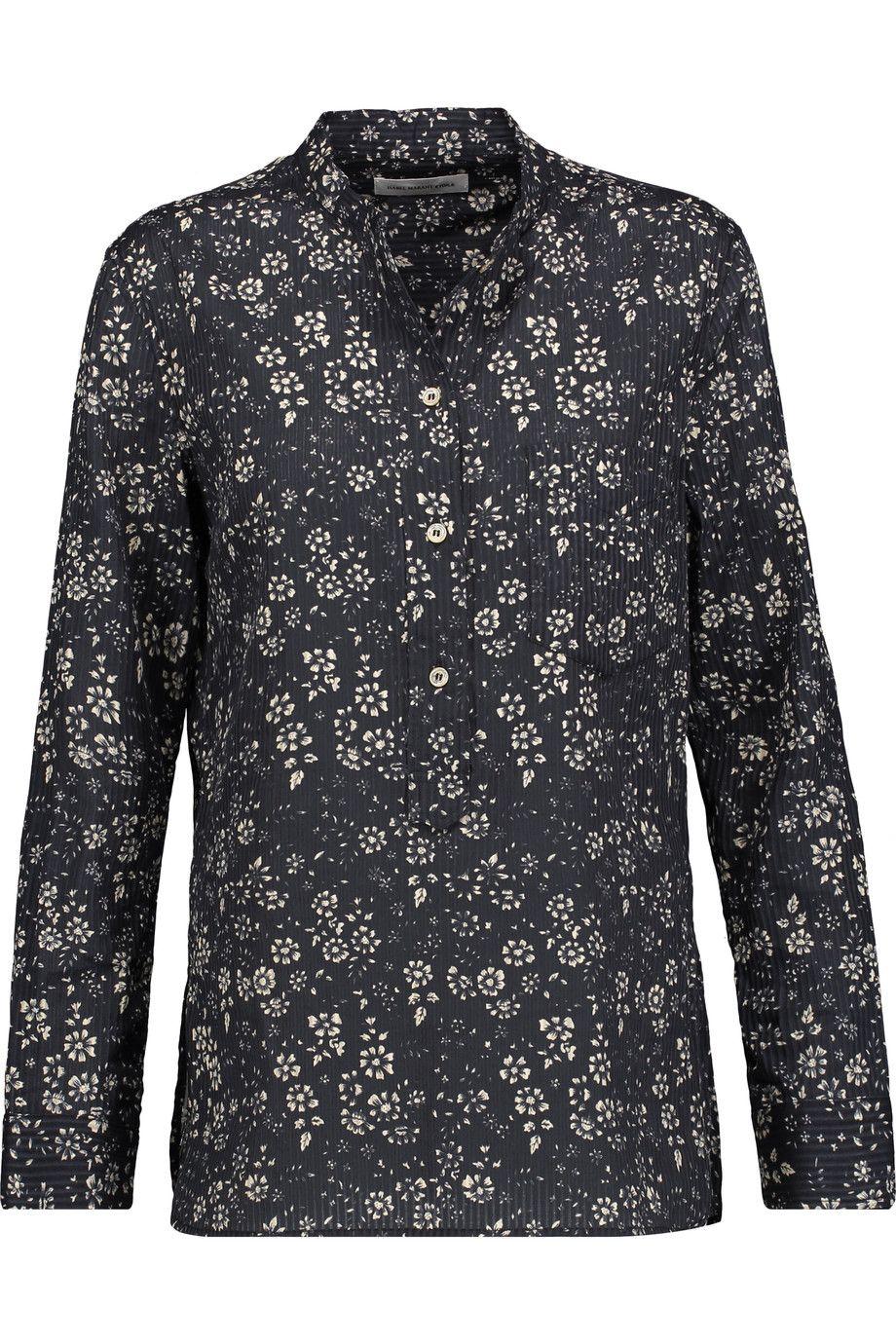 e986d665324 ETOILE ISABEL MARANT Brenda floral-print cotton shirt. #etoileisabelmarant  #cloth #shirt