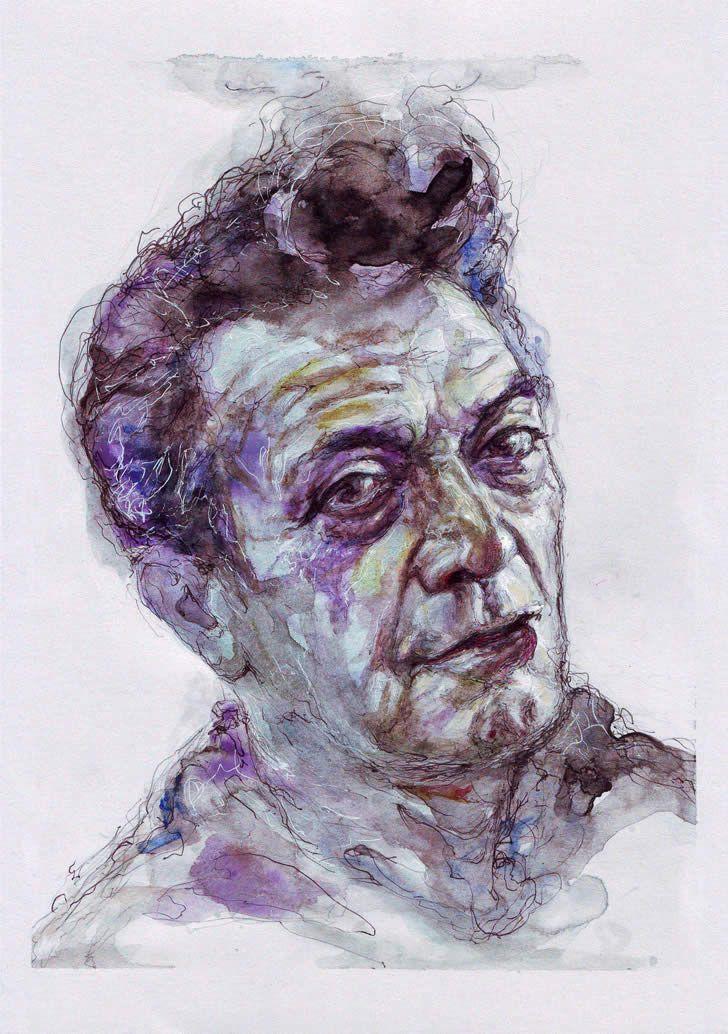 Expressive Watercolor Portraits In 2020 Watercolor Portraits