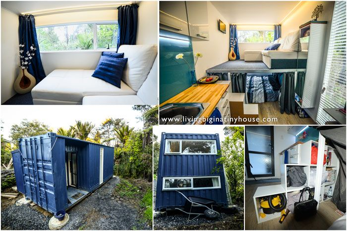 Converted From A 20ft 6 Meter Shipping Container This Tiny House