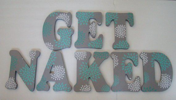 Wood Letters  7