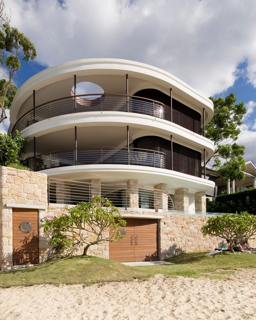 Design Upgrade for ThreeLevel Waterfront Home Near Sydney Harbour