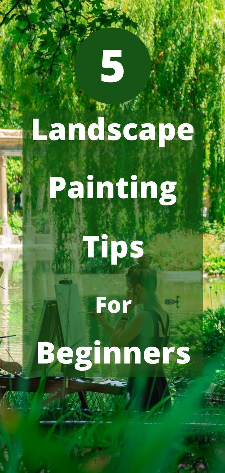 Get 5 essential landscape painting tips for beginners! Learn more about landscape painting with these landscape painting tips. These Painting tips will improve your painting technique. Great Oil painting lessons for beginners. Landscape painting for beginners. Oil painting for beginners. acrylic painting. Learn how to paint. #paintingforbeginners #learnhowtopaint #oilpainting #learnhowtopaint #painting #imprimatura #underpainting
