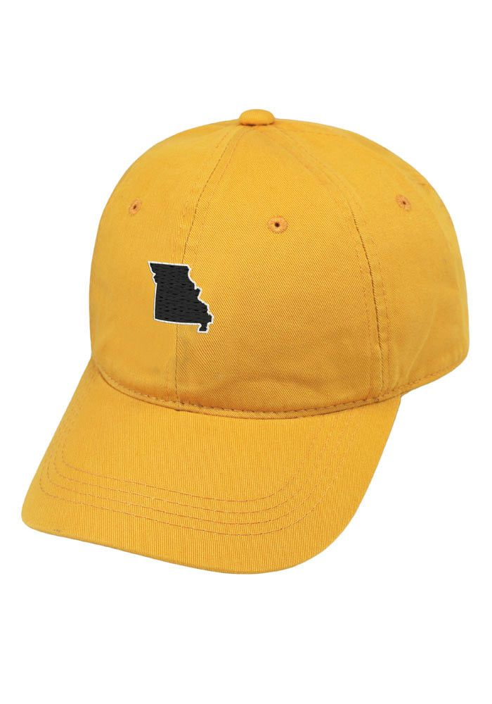 Missouri Tigers Gold Adjustable Hat  23999e43a883