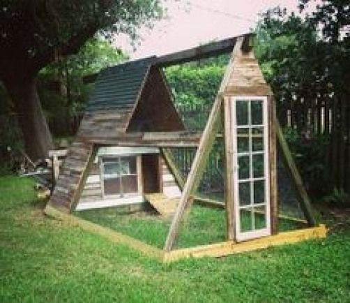 Image result for a frame pvc chicken coop #ChickenHouses ...