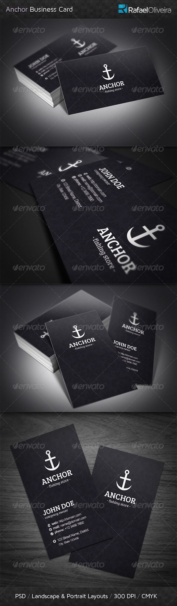 Anchor business cards business cards business and template anchor business cards industry specific business cards reheart Images