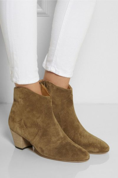 isabel-marant-brown-the-dicker-suede-ankle-boots-product-1 ...