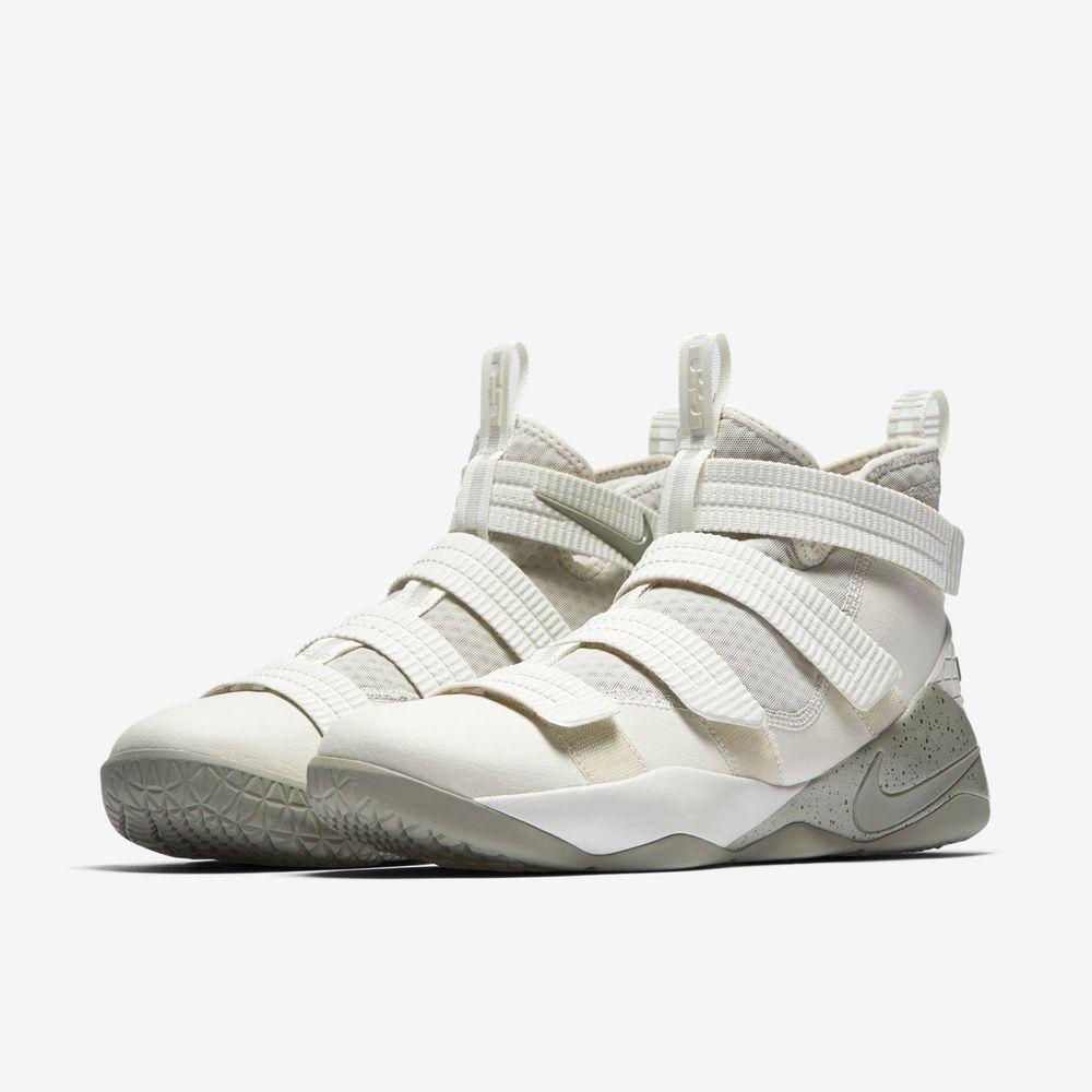 a78441db2da0a Nike Lebron Soldier XI SFG Mens Basketball Shoes 14 Light Bone Stucco  897646 005  Nike  BasketballShoes