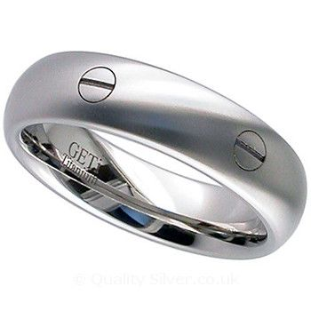 Geti Titanium Screw Head Ring