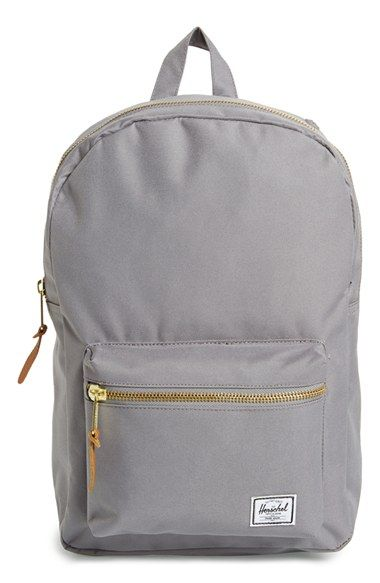 f09ce4c88ca Free shipping and returns on Herschel Supply Co.  Settlement Mid Volume   Backpack at Nordstrom.com. Goldtone zips and a contrast liner update a  classic ...