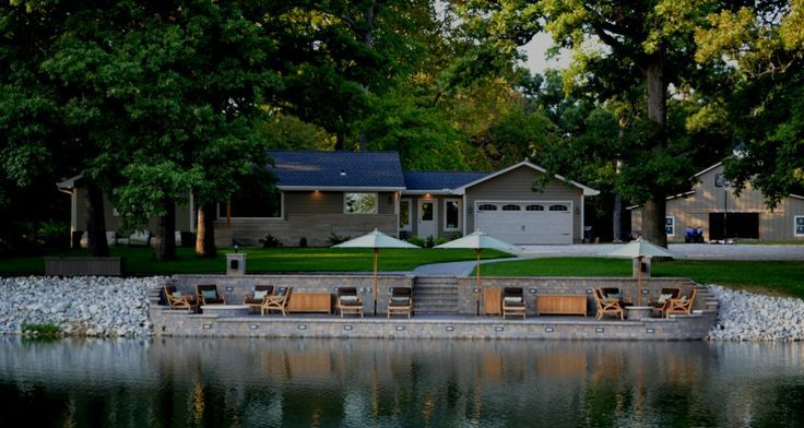 Interesting Lake Rustic Retaining Wall Ideas Top 12