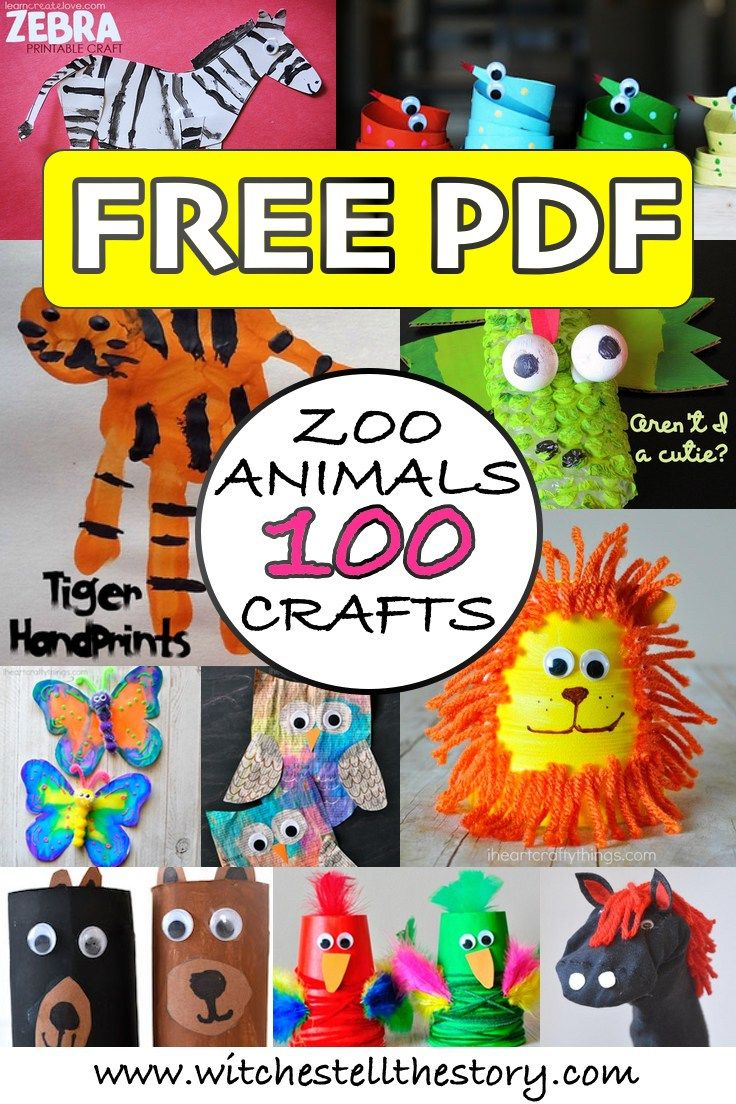 100 Zoo Animal Craft Ideas For Kids Grandaughter Crafts Zoo
