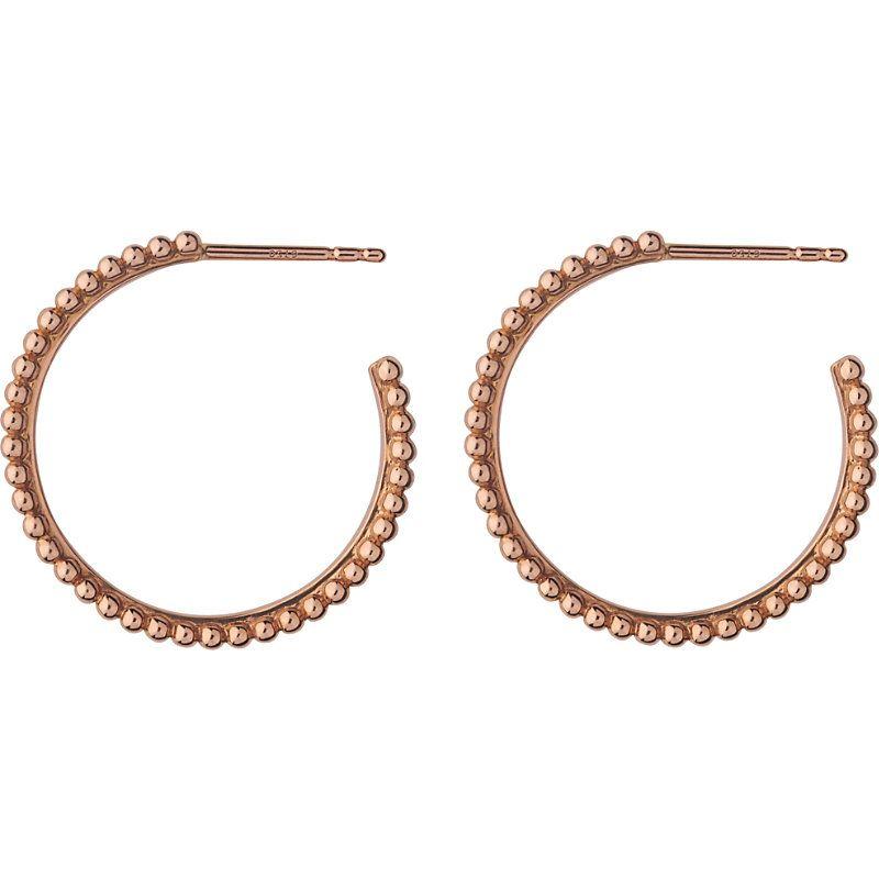 d5d048a0a LINKS OF LONDON 冒泡 18CT 玫瑰 金 和 钻石 箍 耳环. #linksoflondon ...