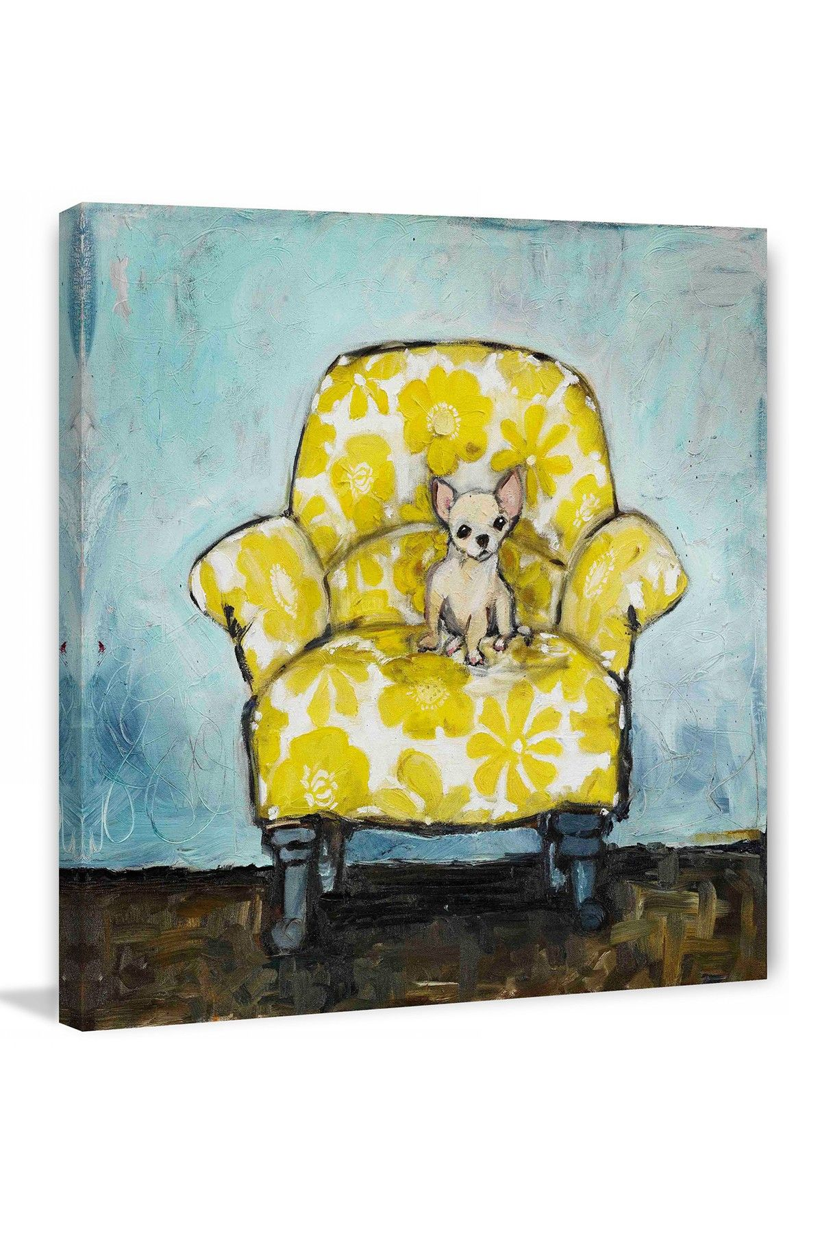 Dog Allowed Canvas Wall Art | HauteLook | In honor of the chihuahua ...