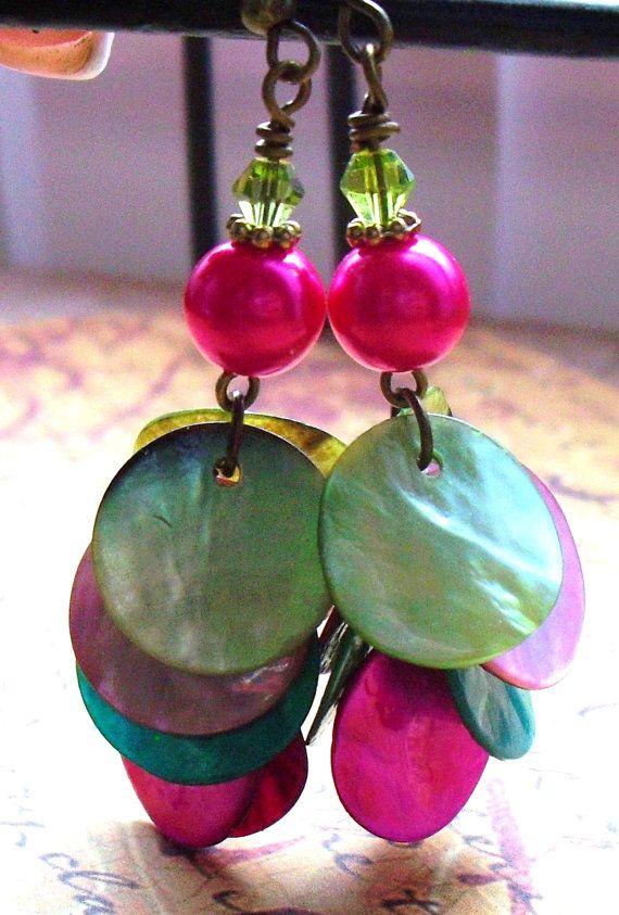 cha cha earrings.