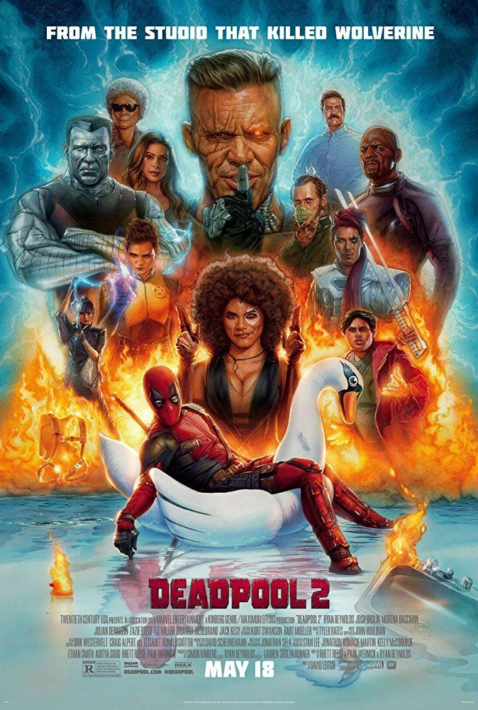 Deadpool 2, USA, 2018 Deadpool 2 poster, Deadpool 2