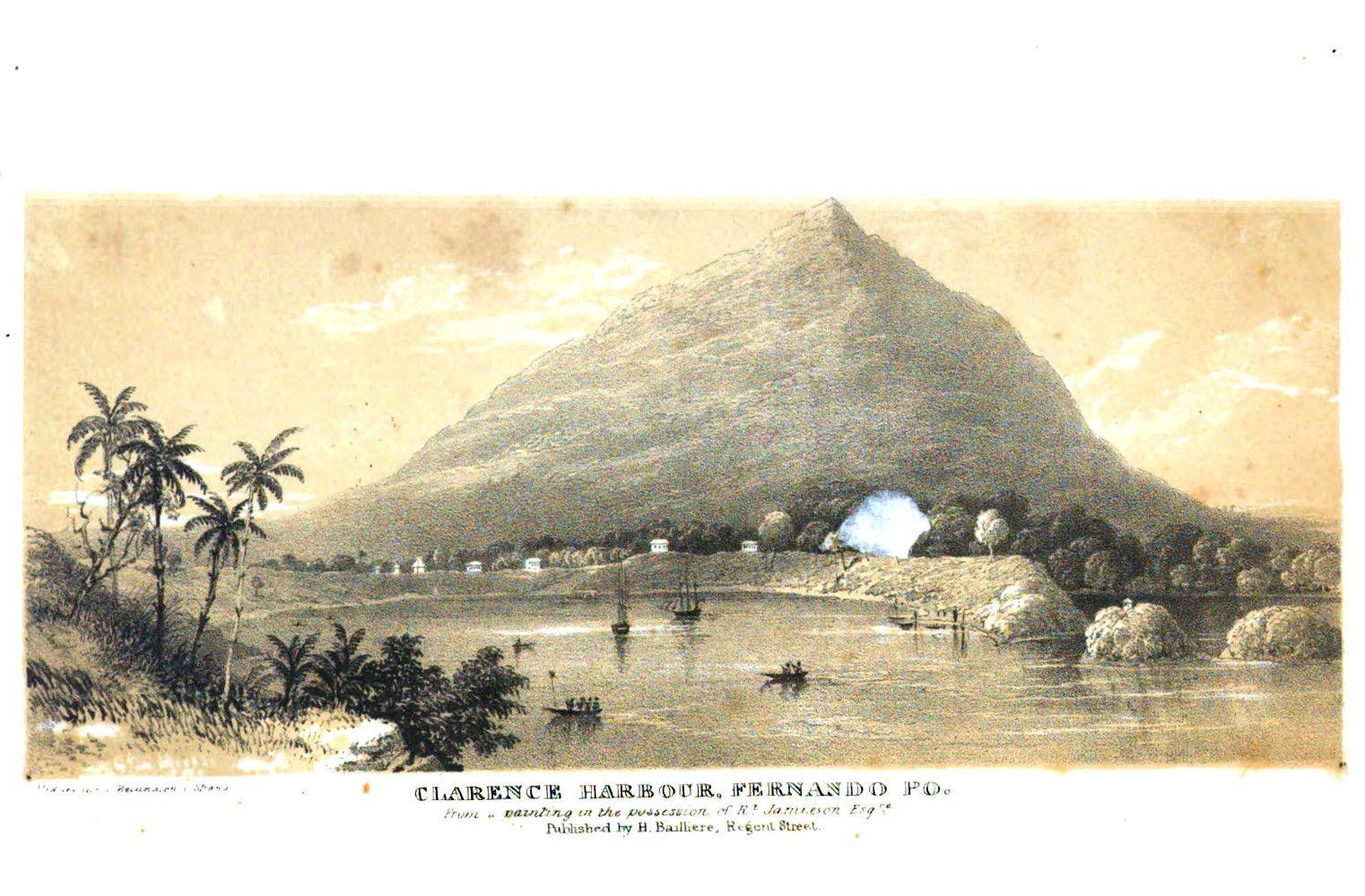 """""""Clarence Harbour"""", 1849. #viaggi #africa #esplorazioni #illustrazioni"""