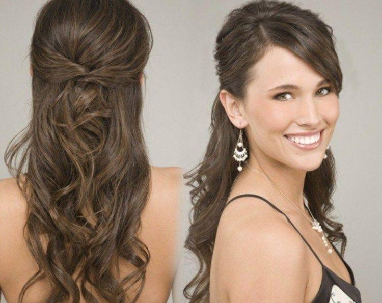 40++ Frisur lange haare abendkleid inspiration