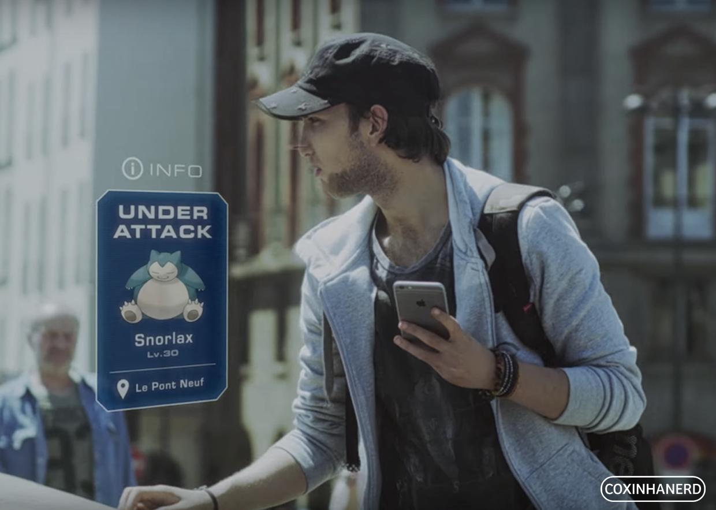 Perigos Pokemon Go