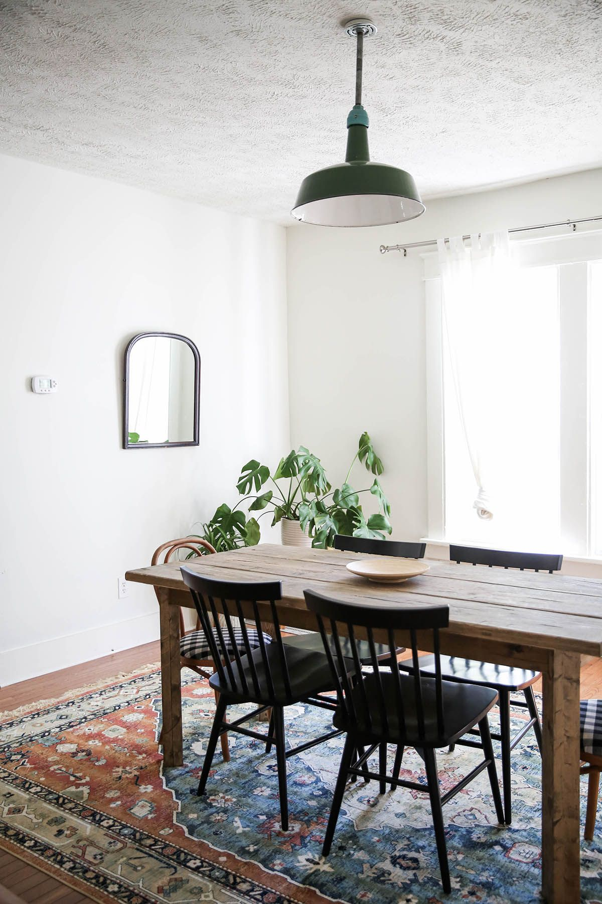 Minimal Rustic Antique Home Decor, Dining Room Idea, Mccarn Airbnb