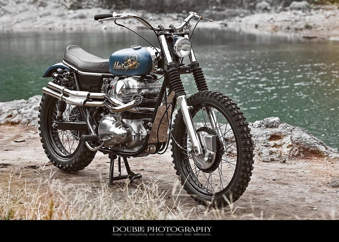 Taiwan Kawasaki W650 W800 Scrambler Markmotorcyclestw