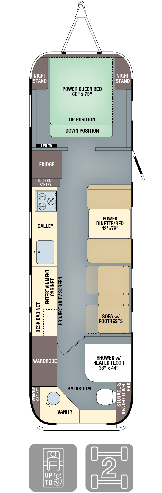 Floorplans Classic Travel Trailers Airstream Travel Trailer Floor Plans Airstream Airstream Living
