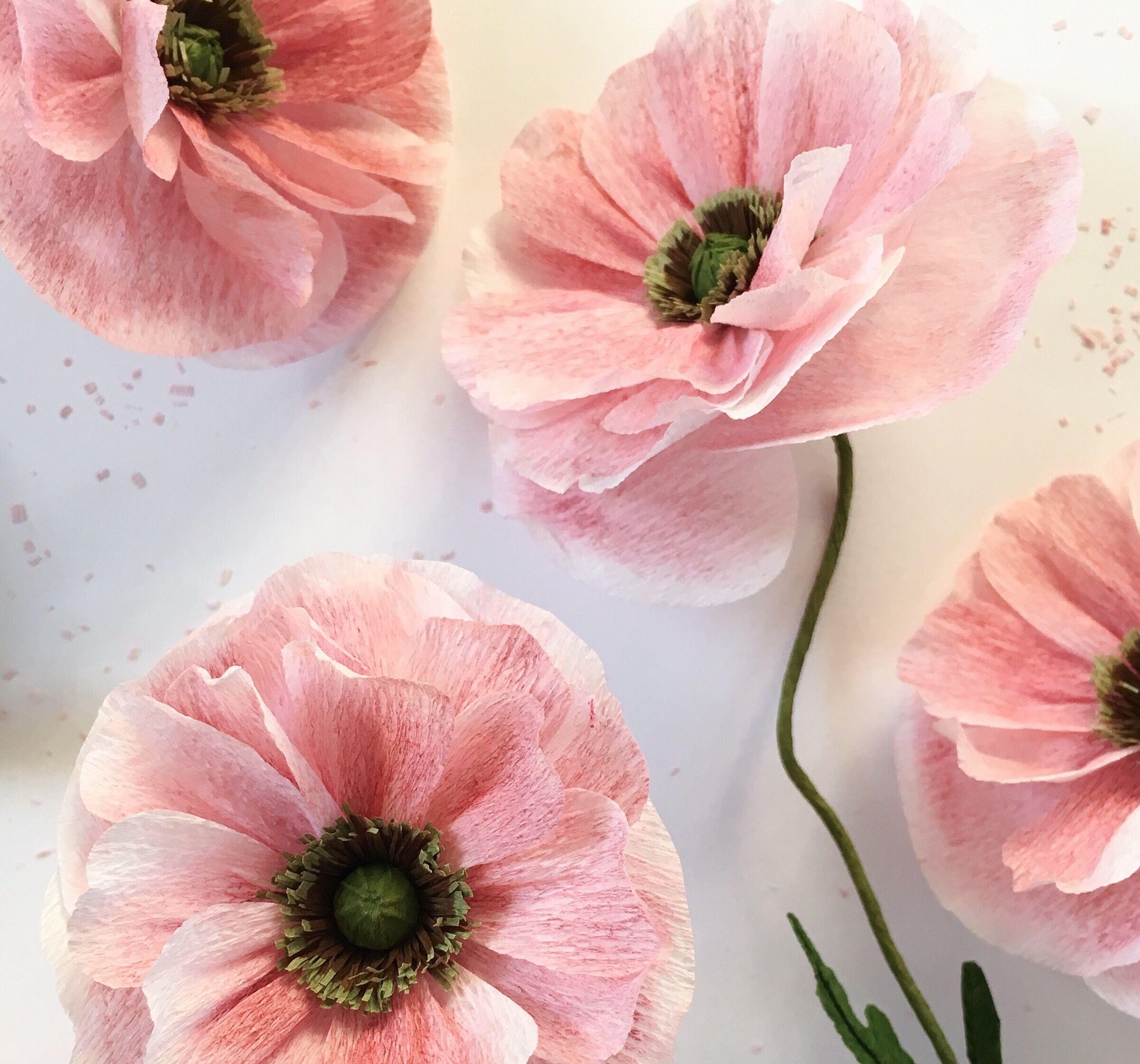 Paper Flower Tutorial Angel Choir Poppy By A Petal Unfolds