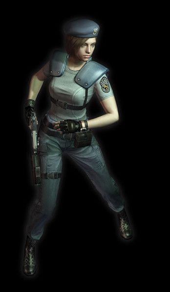 Jill Valentine Resident Evil Girl Jill Valentine