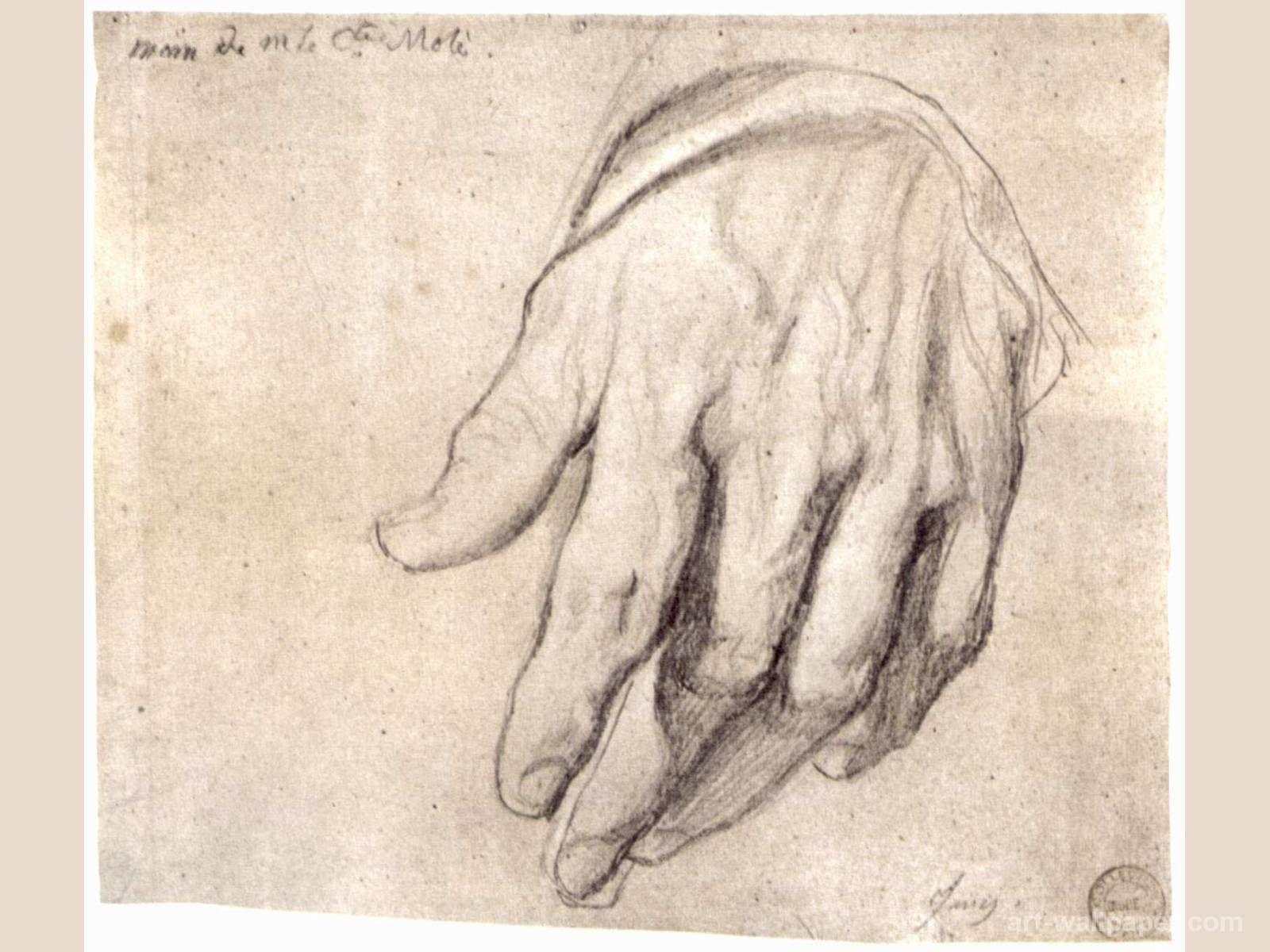 ingres drawings - Google zoeken   sketchbook   Pinterest   Hand und ...
