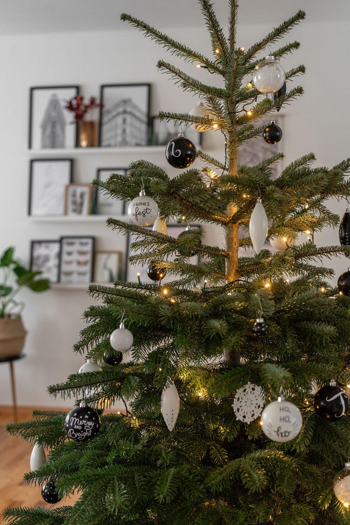 weihnachtsbaumschmuck selber machen + das ist unser